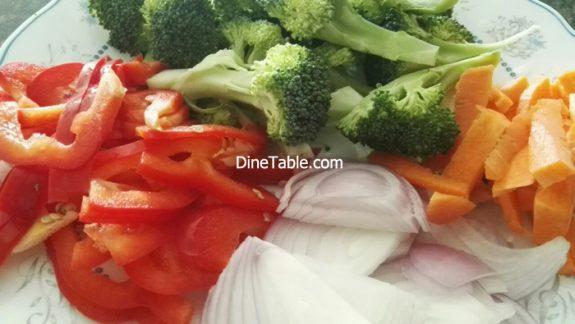 Broccoli Thai Curry - Tasty & Healthy Thai Veg Recipe - Vegies