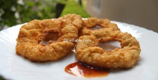 Chicken Ring Samosa Recipe - Tasty Samosa