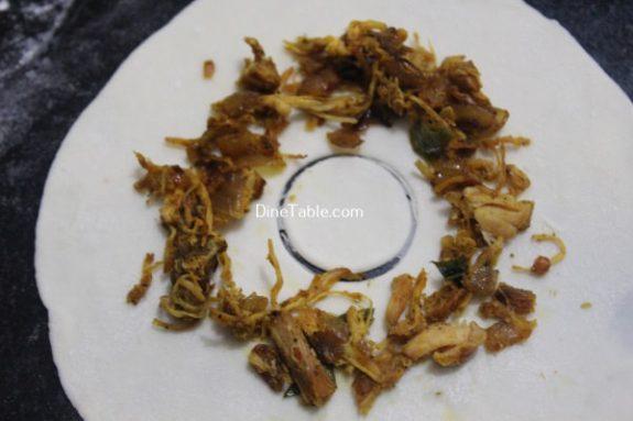 Chicken Ring Samosa Recipe - Snack Samosa