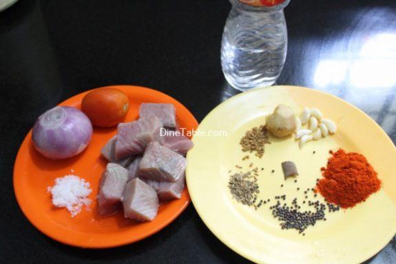 Fish Vindaloo Recipe / Non Veg Dish
