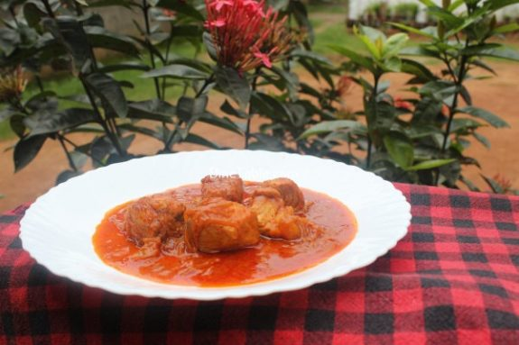 Fish Vindaloo Recipe / Tangy Dish