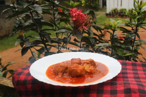 Fish Vindaloo Recipe / Quick Dish