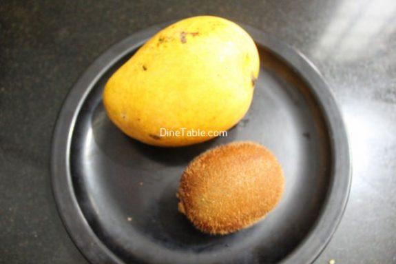 Kiwi Mango Layered Smoothie Recipe / Yummy Dish
