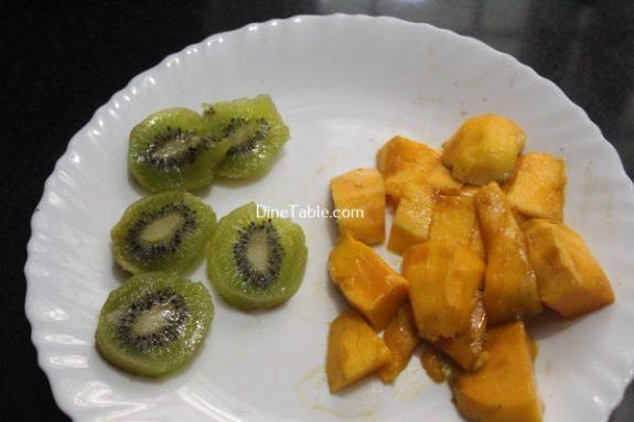 Kiwi Mango Layered Smoothie Recipe / Easy Dish
