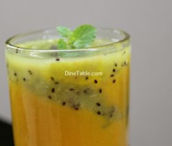 Kiwi Mango Layered Smoothie Recipe / Tasty Dish
