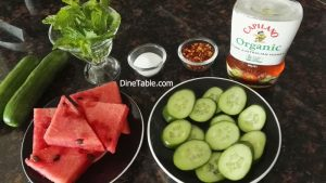 Grilled Watermelon & Cucumber Recipe - Easy Grilled Fruits & Veggies Recipe