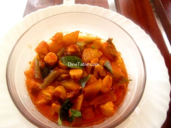Chakkakuru Manga Curry Recipe - Quick Curry