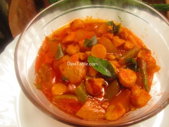 Chakkakuru Manga Curry Recipe - Kerala Curry