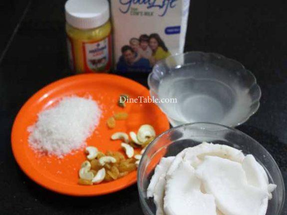 Elaneer Payasam Recipe - Onam Sadya Payasam