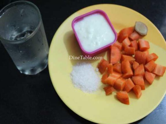 Carrot Lassi Recipe - Delicious Lassi