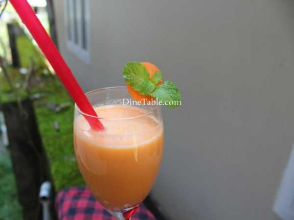 Carrot Lassi Recipe - Quick Lassi
