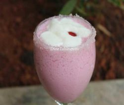 Strawberry Crush Milk Shake Recipe - Refreshing Drink