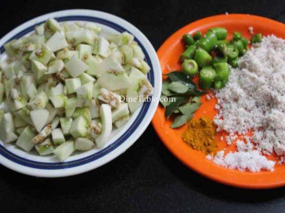 Vazhuthananga Thoran Recipe - Simple Dish