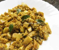 Vazhuthananga Thoran Recipe - Healthy Dish