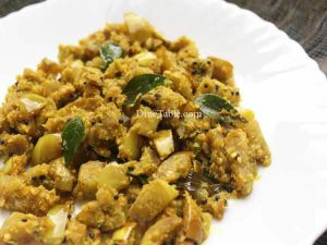 Vazhuthananga Thoran Recipe