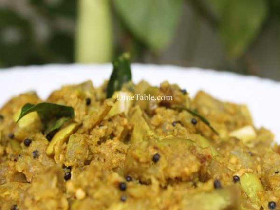 Vazhuthananga Thoran Recipe - Vegetarian Dish