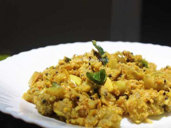 Vazhuthananga Thoran Recipe - Easy Dish