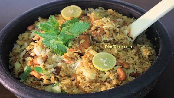 Easy Fish Biriyani Recipe – മീൻ ബിരിയാണി - Fish Dum Biriyani
