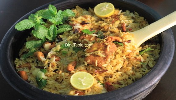 Easy Fish Biriyani Recipe – മീൻ ബിരിയാണി - Tasty Fish Dum Biriyani