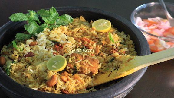 Easy Fish Biriyani Recipe – മീൻ ബിരിയാണി - Fish Dum Biriyany