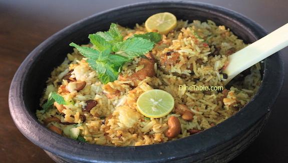 DineTable.com Indian Kerala