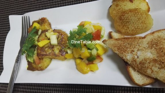 Quick & Easy Grilled Fish with Mango Salsa Recipe - Tasty & Healthy Mexican Recipe