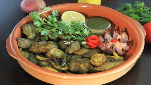 Hara Bhara Fish Tikka Recipe - Fish Tikka made in cooking range oven