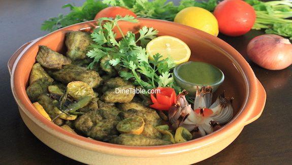 Hara Bhara Fish Tikka Recipe - Fish Tikka in cooking range oven
