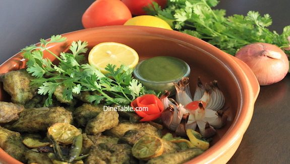 Hara Bhara Fish Tikka Recipe - Helathy Fish Tikka in cooking range oven