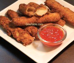 Momly Eggless Cheese Sticks Recipe - Easy Snacks Recipe
