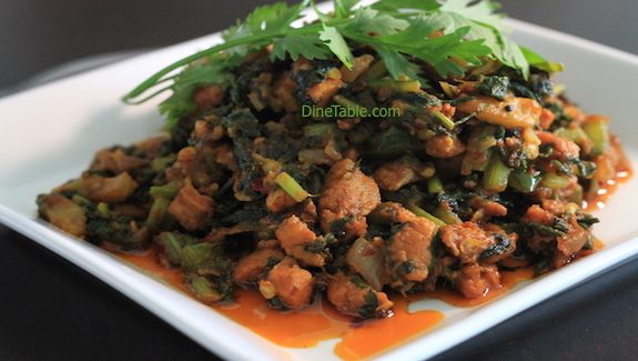 Palak Chicken Recipe - Healthy Diet Recipe