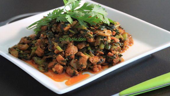 Palak Chicken Recipe - Healthy Diet Recipe - Tasty Chicken Recipe