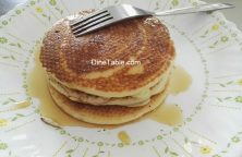 Pancake with Maple Syrup - Easy Breakfast Recipe