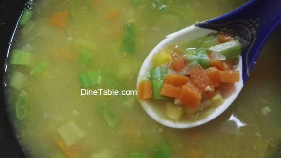 Pumpkin Soup Recipe - Diet Soup Recipe - Healthy Vegetable Soup