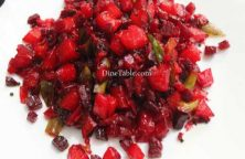Beetroot Potato Mezhukkupuratti Recipe - Healthy Dish