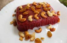 Beetroot Rava Kesari Recipe - Kesari Sweet