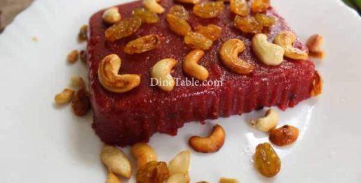 Beetroot Rava Kesari Recipe - Kesari Sweet