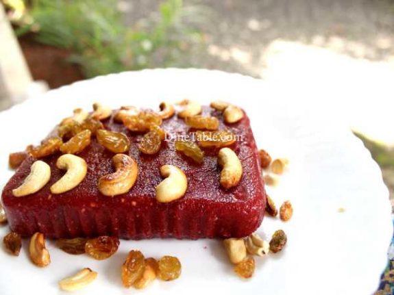 Beetroot Rava Kesari Recipe - Nutritious Sweet
