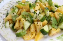 Pineapple Cucumber Lime Salad Recipe