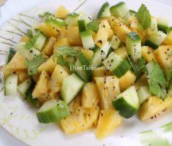 Pineapple Cucumber Lime Salad Recipe