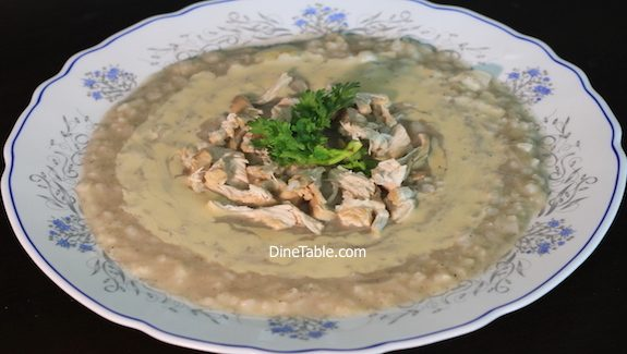 Rice chicken soup with Tahini Recipe - Healhty Soup Recipe