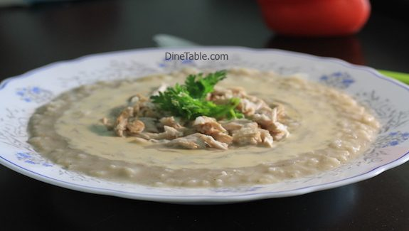 Rice chicken soup with Tahini Recipe - Healhty chicken Soup Recipe