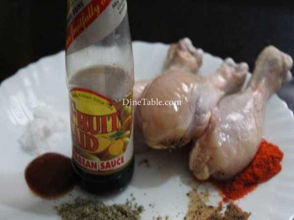 Chicken Leg Fry Recipe - Spicy Fry