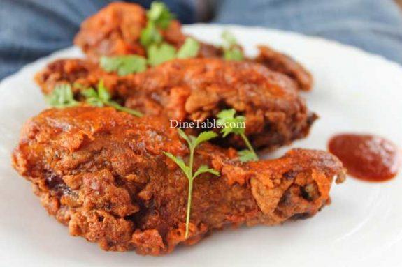 Chicken Leg Fry Recipe - Easy Fry