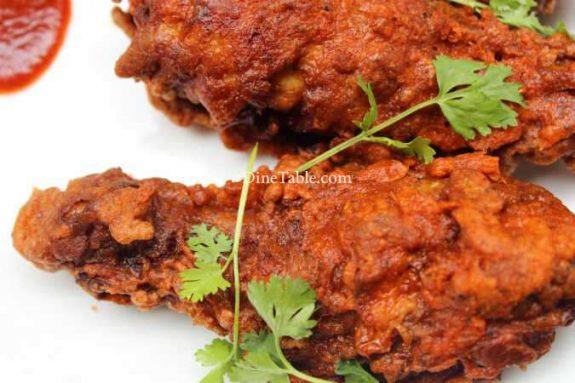 Chicken Leg Fry Recipe - Simple Fry