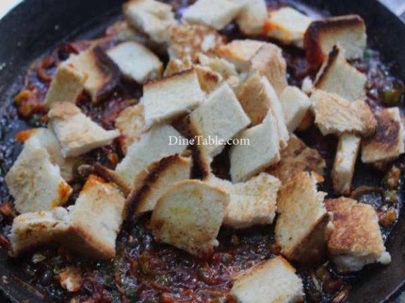 Chilly Bread Recipe - Indian Bread