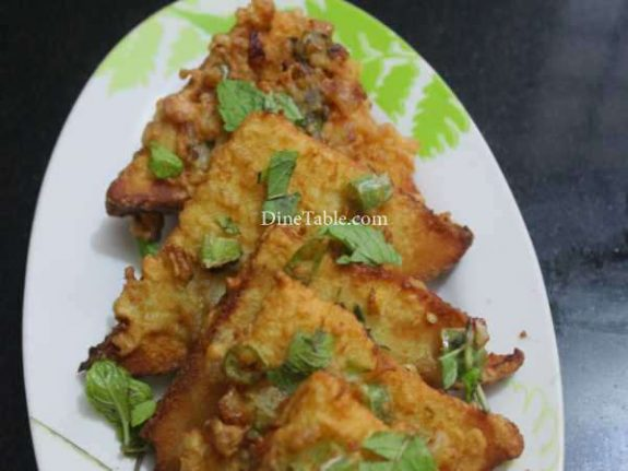 Masala Bread Toast Recipe - Tasty Snack
