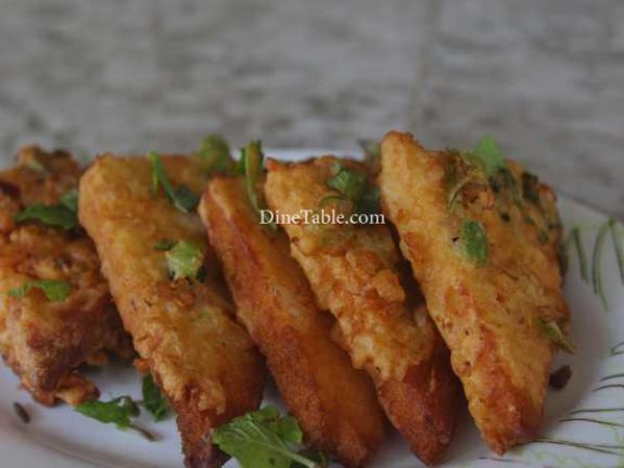 Masala Bread Toast Recipe - Crunchy Snack