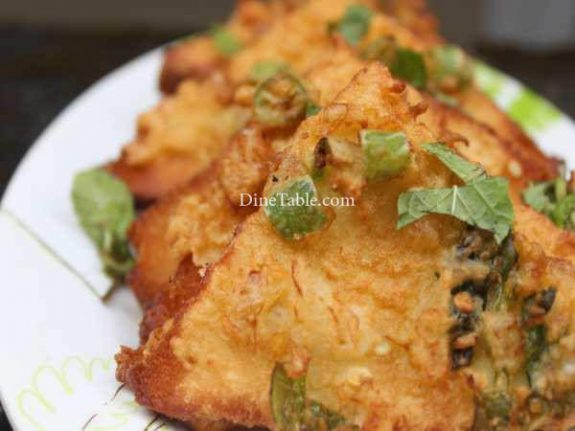 Masala Bread Toast Recipe - Evening Snack