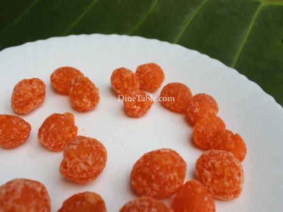 Thaen Mittai Recipe - Crunchy Candy